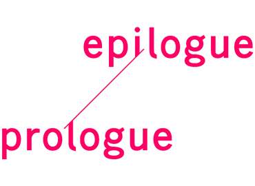 epilogue ? prologue
